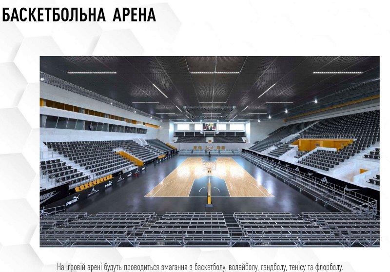спортивний комплекс Метеор