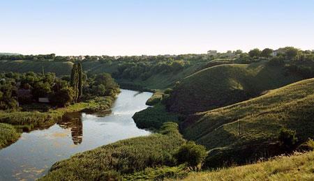 река Саксагань