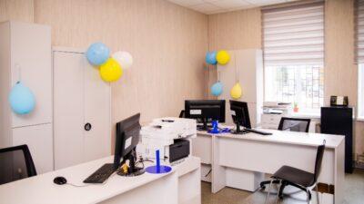 В громаде Днепропетровщины открыли современный офис админуслуг