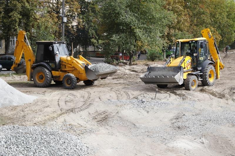 капитальный ремонт улицы Кондратюка_Днепр