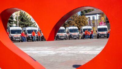 В Днепропетровской области обновляют автопарки станций экстренной медпомощи (фото)