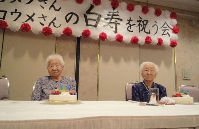 старейшие близнецы_Япония