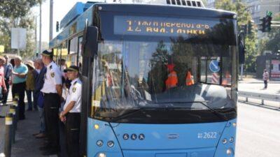 троллейбусный маршрут_Днепр