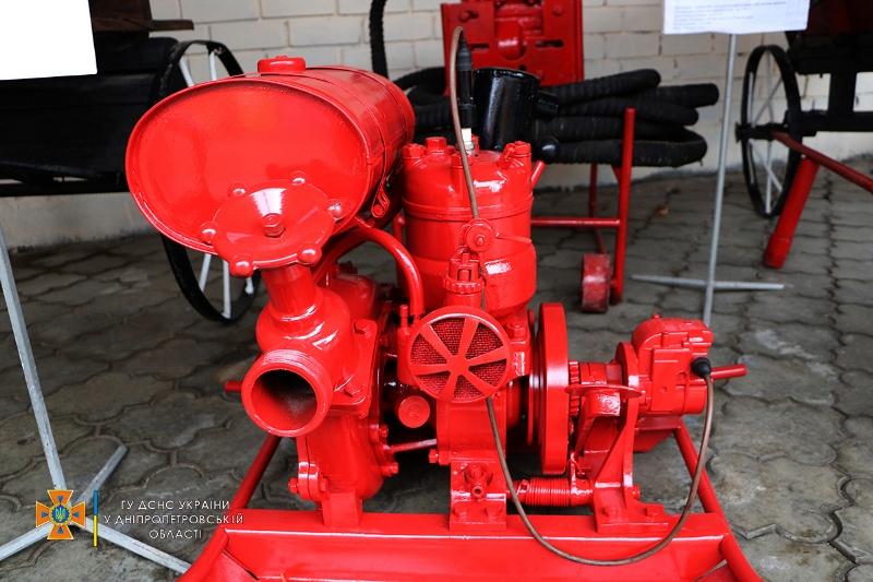 выставка пожарной ретротехники_Днепр