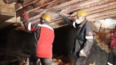 На Дніпровському коксохімзаводі ремонтують нагрівальну піч