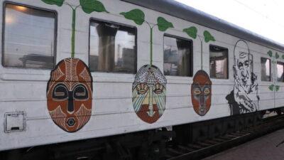 арт-поезд ГогольTRAIN