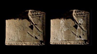 В Великобритании нашли древнейшее изображение призрака