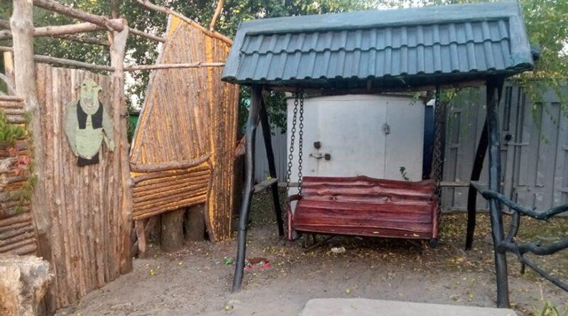 На Днепропетровщине активисты создают шедевры из дерева (фото)